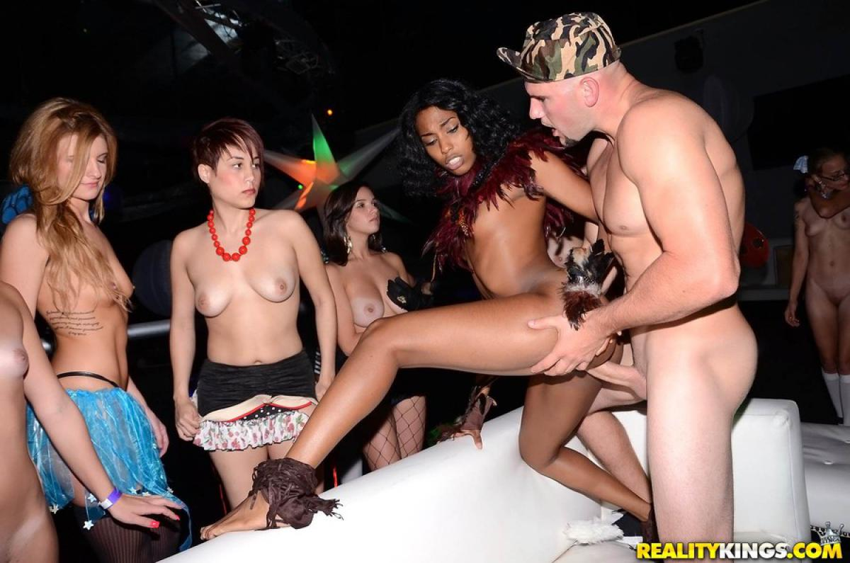 Black drunk orgy, sex touching naked